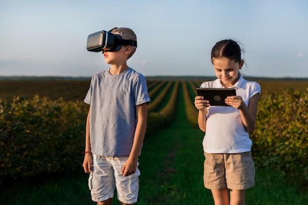 Filhinhos, usando novas tecnologias