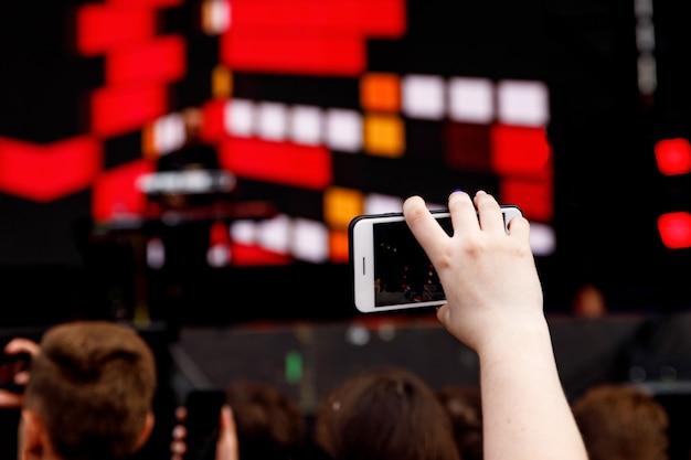 Filmar em um telefone celular