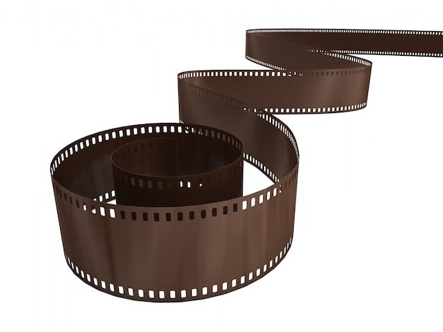 Filme fotográfico com reflexão