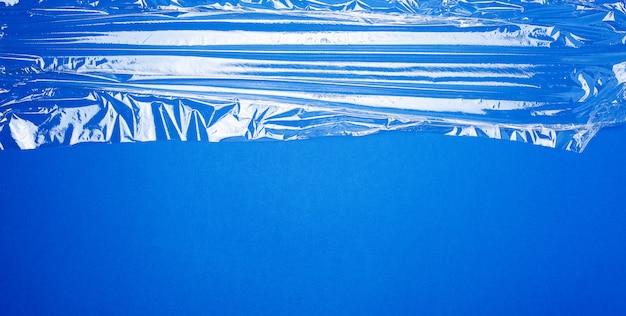 Filme plástico estirável transparente para produtos de embalagem