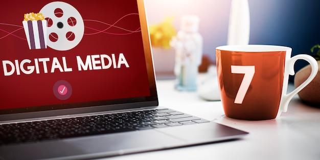 Filmes entretenimento eventos mídia digital