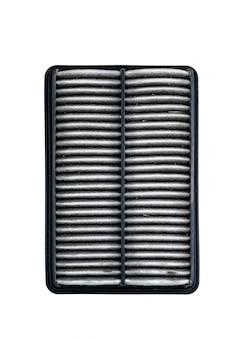Filtro de ar sujo para carro
