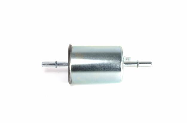 Filtro de combustível de metal cilíndrico