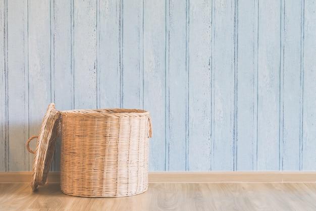 Filtro de madeira cesta cestas interior