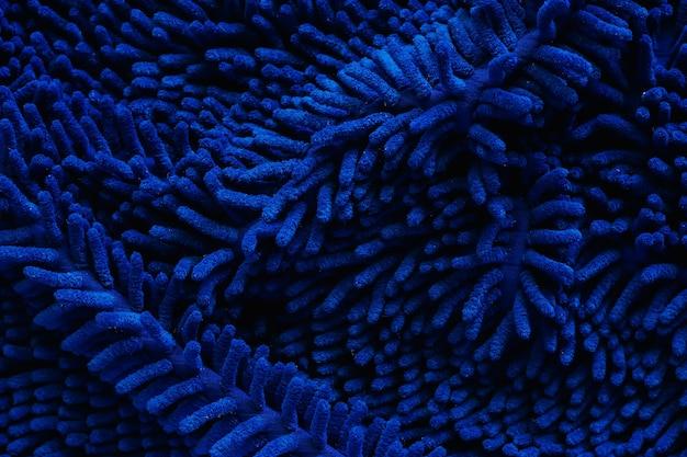 Fim, cima, de, azul, capacho, ou, tapete, textured