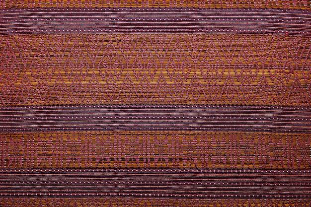 Fim peruano africano colorido da superfície do tapete do estilo acima.