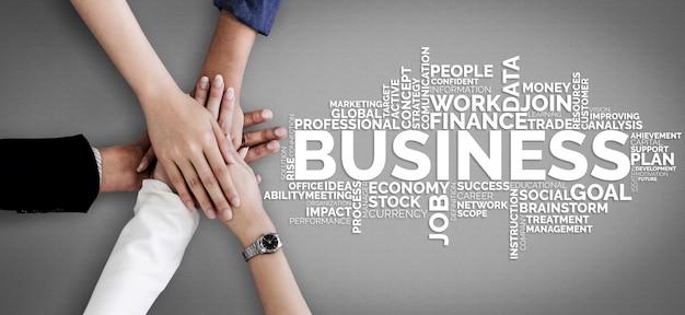 Finanças de comércio de negócios e conceito de marketing.