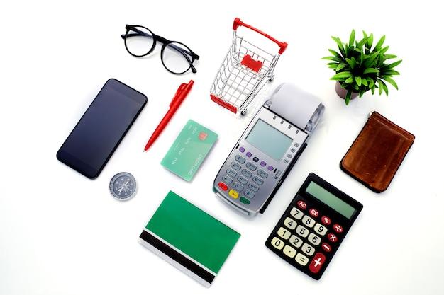 Finanças de negócios plana leigos em branco