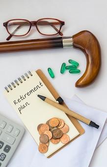 Financiar ganhos do pessoal envelhecido poupança de crescimento