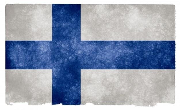 Finland grunge bandeira
