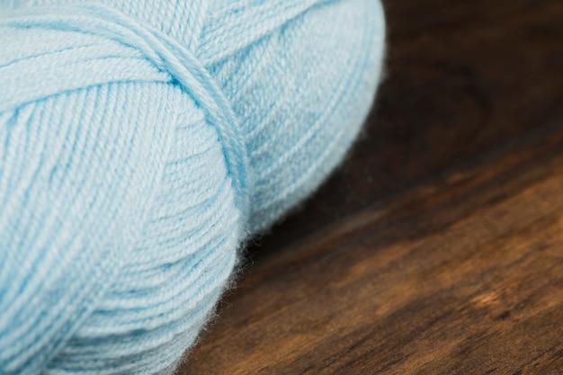 Fio de lã de bobina