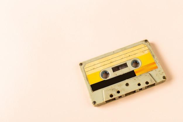 Fita cassete de áudio antiga