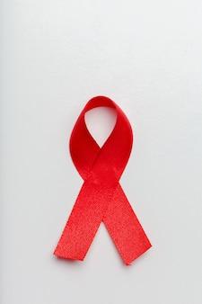 Fita como símbolo da conscientização da aids