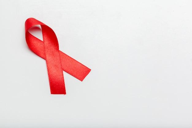Fita como símbolo de conscientização de aids