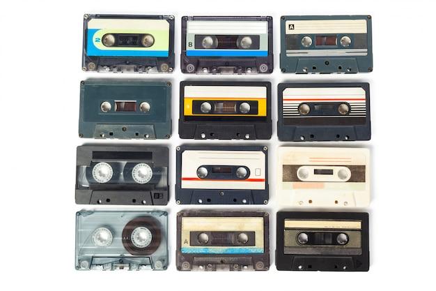 Fita de áudio de música