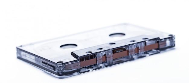 Fita de áudio magnética à moda antiga