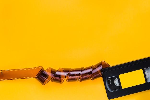 Fita de vídeo com celulóide