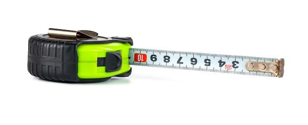 Fita métrica, medidor isolado