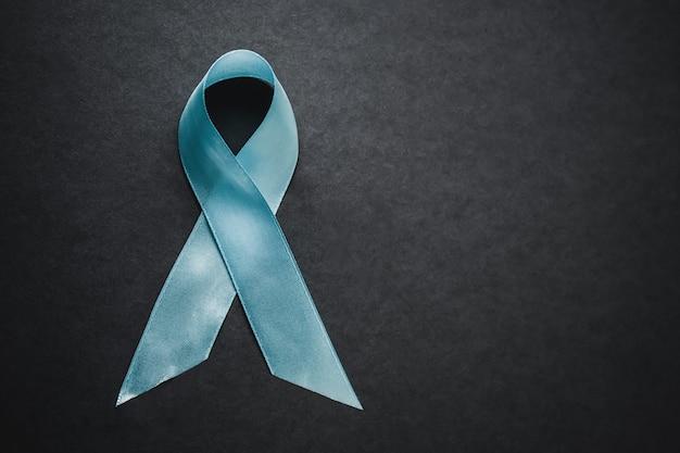 Fita verde hiv, aids em fundo cinza