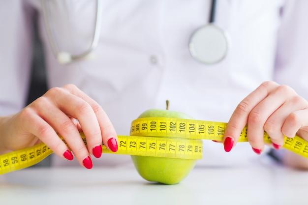 Fitness e conceito de dieta alimentar saudável.