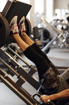 Fitness no ginásio