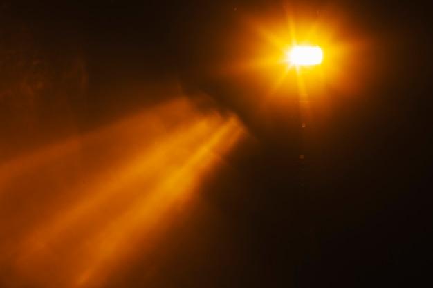 Flash distante de luz
