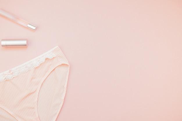 Flat leigos conjunto de calcinha feminina e acessórios