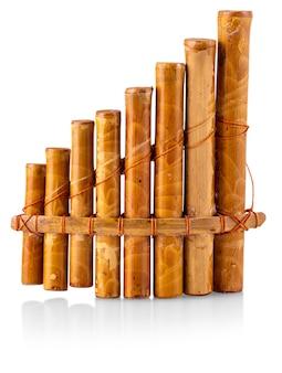 Flauta - instrumento folclórico do peru e da bolívia.