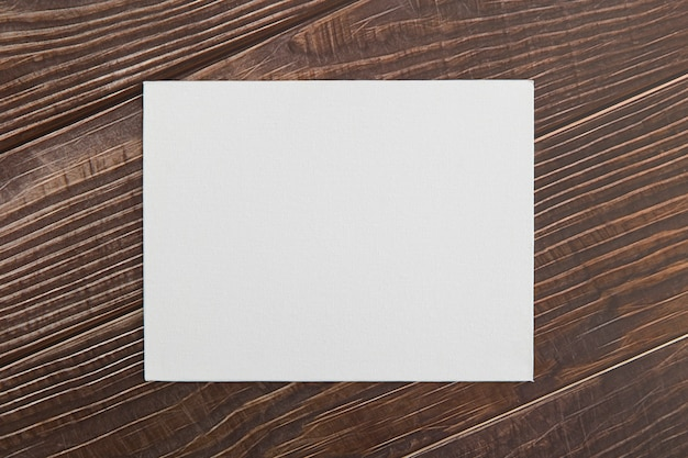 Flay lay brochura em branco