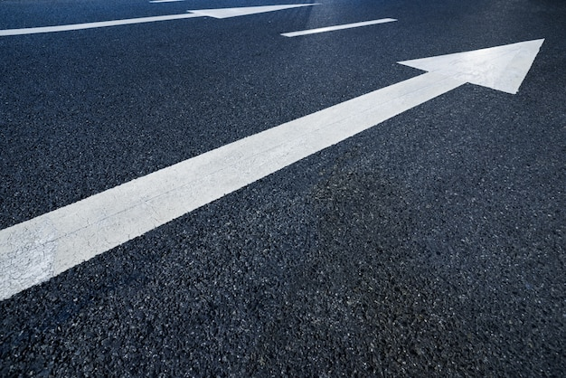 Flechas da estrada