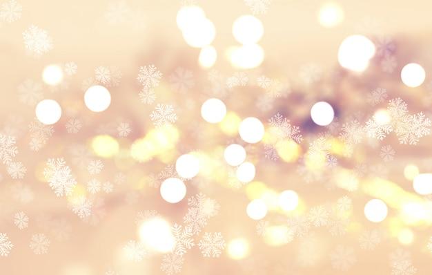 Floco de neve de natal