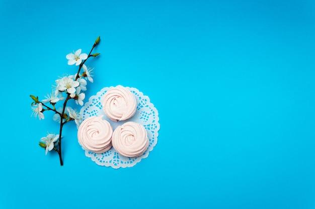 Flor de cerejeira, marshmallow cereja.