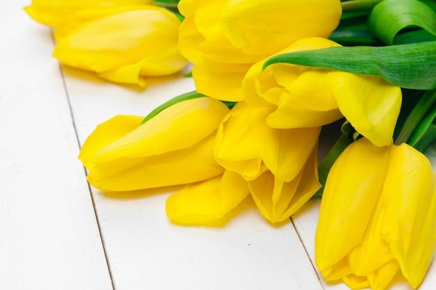 Flor de tulipas da primavera