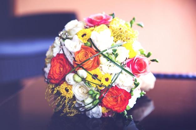 Flor do casamento bucket