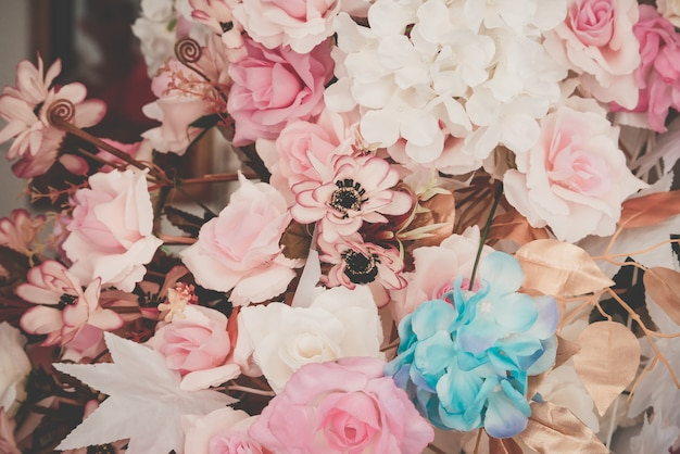 Flor lindo buquê para plano de fundo