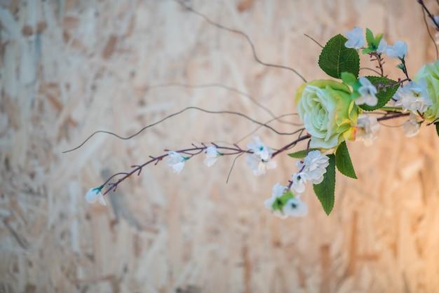 Flor no evento do casamento