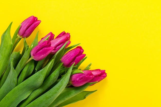 Floral muitos cartões roxo