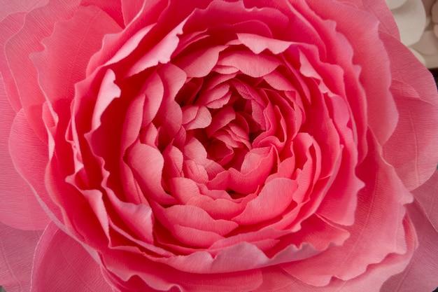 Flores de papel artificial feitas à mão decor