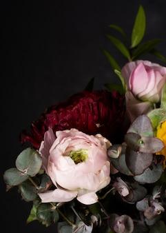 Flores desabrochando close-up