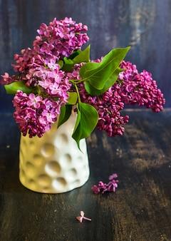 Flores interiores de tempo de primavera