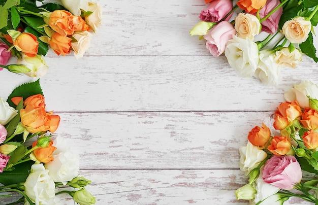 Flores para o dia da mulher. cartão do dia das mães.