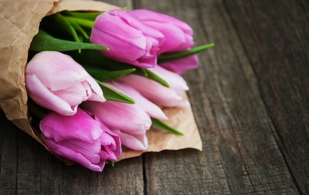 Flores tulipa primavera