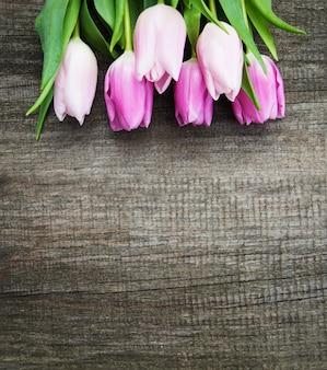 Flores tulipas da primavera