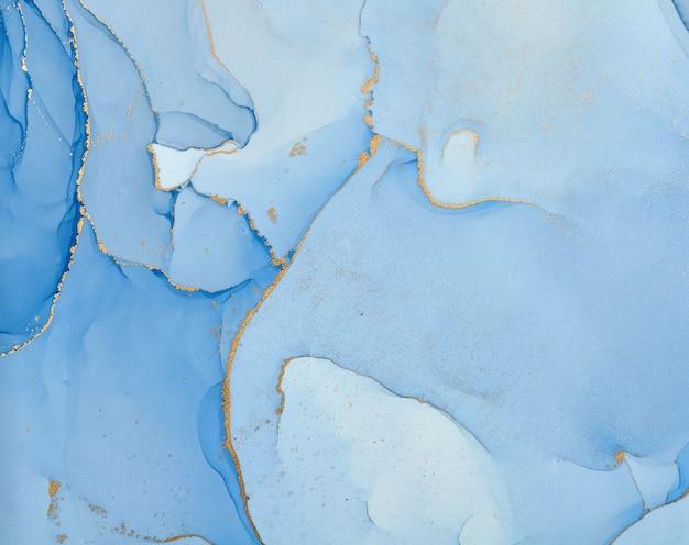 Fluid art. fundo colorido abstrato, papel de parede. mistura de tintas acrílicas. arte moderna. textura de mármore. álcool tintas com cores translúcidas