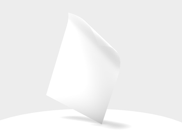 Flyer poster banner page mock-se objeto isolado