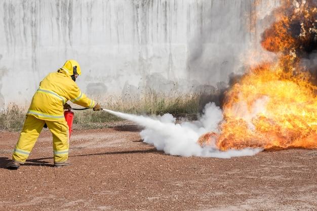 Fogo extintor de fogo extintor de fogo