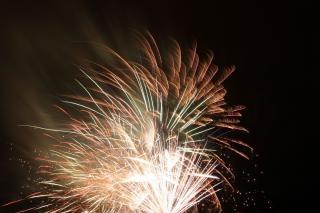 Fogos de artifício blowup, bomba