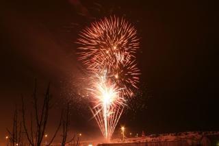 Fogos de artifício, blowup