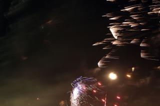 Fogos de artifício, bombas, cores
