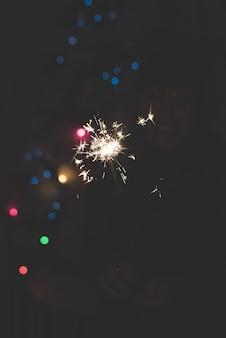 Fogos de artifício de ano novo